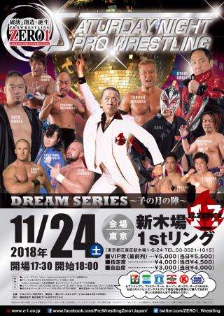 2018/11/24(土) ドリームシリーズ~子の月の陣~天下一ジュニアトーナメント